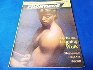Frontiers (Vol. Volume 3 Number No. 12, August 1-8, 1984) Gay Newsmagazine News Magazine