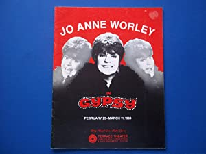 Jo Anne Worley in Gypsy: February 25-March 11, 1984 (Theatre Program)