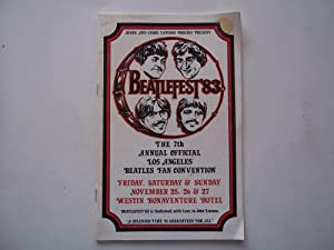 Beatlefest '83: The 7th Annual Offical Los Angeles Beatles Fan Convention (1983 Program)