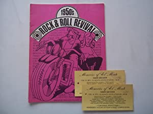 1950's (1950s) Rock & Roll Revival (Program) (With Two Tickets from