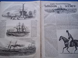 The Illustrated London News (Double Issue: Vol. XVII Nos. 434 and No. 435, July 6, 1850) With Lead ...