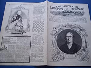 The Illustrated London News (Single Issue: Vol. XVII No. 436, July 13, 1850) With Lead Article &...