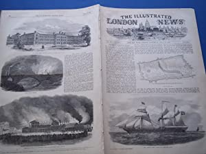 The Illustrated London News (Single Issue: Vol. XVII No. 437, July 20, 1850) With Lead Article &...