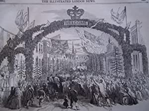 The Illustrated London News (Single Issue: Vol. XVII No. 447, September 21, 1850) With Lead Article...