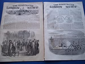 The Illustrated London News (Single Issue: Vol. XVII No. 459, December 14, 1850) With Lead Article ...