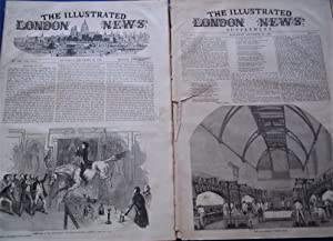 The Illustrated London News (Single Issue: Vol. XVII Nos. 462, December 28, 1850) With Lead Article...