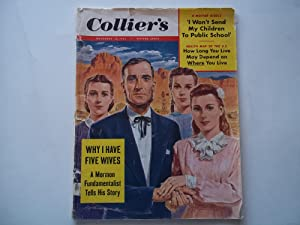 "Collier's (November 13, 1953) Magazine With Cover Story ""Why I Have Five Wives: A Mormon ..."