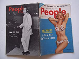 People Today: A Magazine About Headline People (February 22, 1956, Vol. 12 No. 4) (News, Scandal, ...