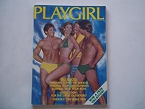Playgirl Magazine (May 1977) Male Nude Photos: Lambert, Douglas (Publisher),