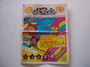 Cinderella Souvenir Edition (Starring Peter Davison and Sandra Dickinson), Assembly Hall Theatre, ...