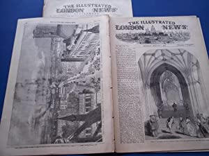 The Illustrated London News (Single Complete Issue: Vol. XX No. 544, February 7, 1852) With Lead ...