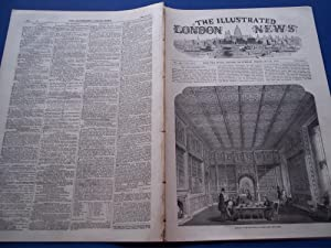 The Illustrated London News (Single Complete Issue: Vol. XX No. 545, February 14, 1852) With Lead ...