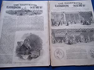 The Illustrated London News (Single Complete Issue: Vol. XX No. 548, March 6, 1852) With Lead ...