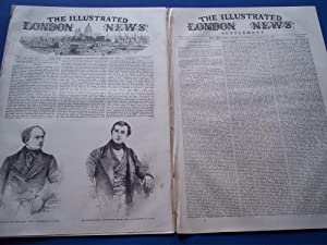 The Illustrated London News (Single Complete Issue: Vol. XX No. 550, March 20, 1852) With Lead ...