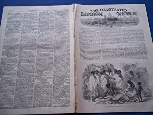 The Illustrated London News (Single Complete Issue: Vol. XX No. 555, April 24, 1852) With Lead ...