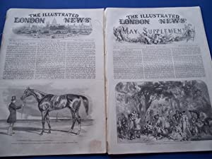 The Illustrated London News (Two Numbers Complete Issues: Vol. XX Nos. 556 & 557, May 1, 1852) ...