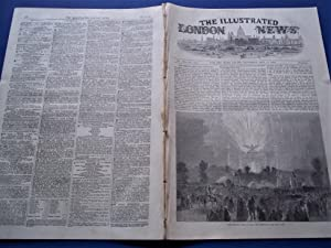 The Illustrated London News (Single Complete Issue: Vol. XX No. 559, May 15, 1852) With Lead ...