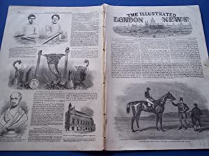 The Illustrated London News (Single Complete Issue: Vol. XX No. 561, May 29, 1852) With Lead ...