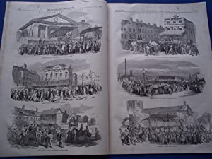 The Illustrated London News (Single Complete Issue: Vol. XXI No. 568, July 10, 1852) With Lead ...