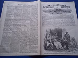 The Illustrated London News (Single Complete Issue: Vol. XXI No. 569, July 17, 1852) With Lead ...