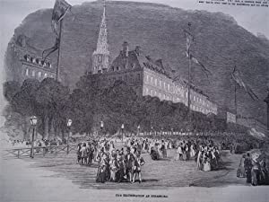 The Illustrated London News (Single Complete Issue: Vol. XXI No. 571, July 31, 1852) With Lead ...