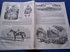 The Illustrated London News (Single Complete Issue: Vol. XXI No. 572, August 7, 1852) With Lead ...