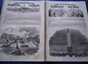 The Illustrated London News (Double Two Numbers Complete Issue: Vol. XXI Nos. 574 & 575, August...
