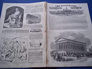 The Illustrated London News (Single Complete Issue: Vol. XXI No. 578, September 11, 1852) With Lead...