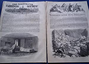 The Illustrated London News (Single Complete Issue: Vol. XXI No. 583, October 2, 1852) With Lead ...