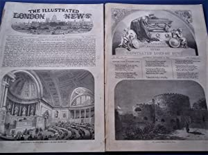 The Illustrated London News (Double Two Numbers Complete Issue: Vol. XXI Nos. 589 & 590, ...