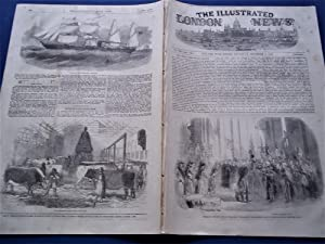 The Illustrated London News (Single Complete Issue: Vol. XXI No. 595, December 4, 1852) With Lead ...