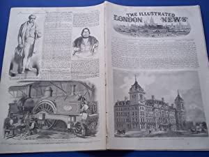 The Illustrated London News (Single Complete Issue: Vol. XXI No. 598, December 18, 1852) With Lead ...