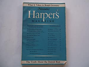 Harper's Magazine (No. 1122, November 1943): Frederick L. Allen (Editor) and Harper & Brothers...