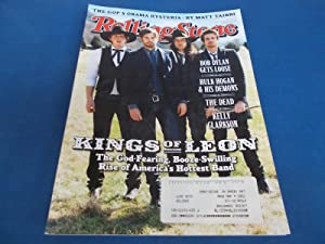 Rolling Stone (Issue 1077, April 30, 2009) Magazine (Kings of Leon Cover and Inside Feature)
