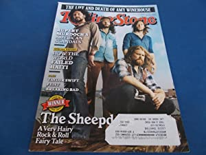 Rolling Stone (Issue 1137, August 18, 2011) Magazine (The Sheepdogs Cover Feature, Amy Winehouse ...