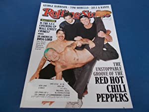 Rolling Stone (Issue 1138, September 1, 2011) Magazine (Red Hot Chili Peppers Cover Feature)