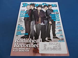 Rolling Stone (Issue 1155, April 26, 2012) Magazine (Radiohead Cover Feature)