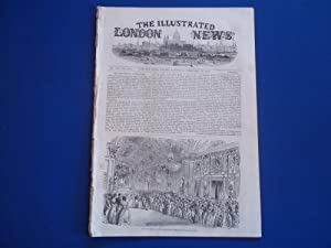 The Illustrated London News (Single Complete Issue: Vol. XXII No. 609, February 19, 1853) With Lead...