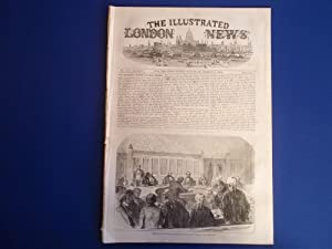 The Illustrated London News (Single Complete Issue: Vol. XXII No. 612, March 12, 1853) With Lead ...