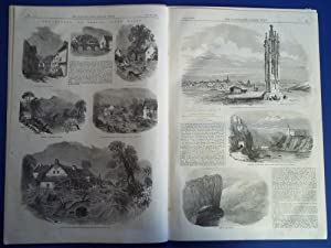 The Illustrated London News (Single Complete Issue: Vol. XXIII No. 635, July 30, 1853) With Lead ...