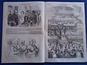 The Illustrated London News (Single Complete Issue: Vol. XXIII No. 648, October 8, 1853) With Lead ...