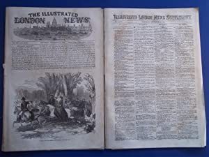 The Illustrated London News (Single Complete Issue: Vol. XXIII No. 657, December 10, 1853) With ...