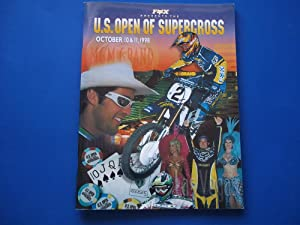 Fox [Racing] Presents the U.S. Open of Supercross, October 10 & 11, 1998, Sanctioned By AMA Pro...