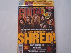 Guitar World Magazine (January 2007 Issue) (Dragonforce, Trivium, Megadeth & Lamb of God Cover ...