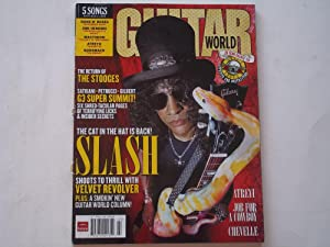 Guitar World Magazine (July 2007 Issue) (Slash Cover Feature - Lacks CD-ROM)