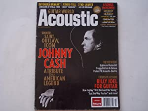 Guitar World Acoustic: Rock on Wood! (March 2006 Issue) Magazine (Johnny Cash Tribute Cover Feature)