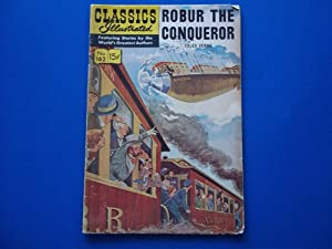 Classics Illustrated No. 162 (August 1967) Robur: Jules Verne (Classics
