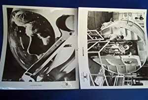 "Countdown (1968) Two Original Publicity 8 x 10"" Black & White Glossy Photos Photographs ..."