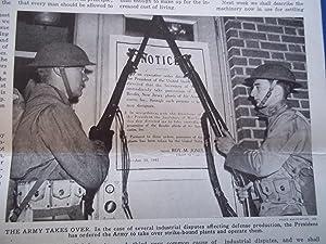 Weekly News Review (November 14, 1941) Headline: Walter E. Myer