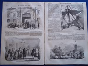 The Illustrated London News (Single Complete Issue: Vol. XXIV No. 669, February 18, 1854) With Lead...